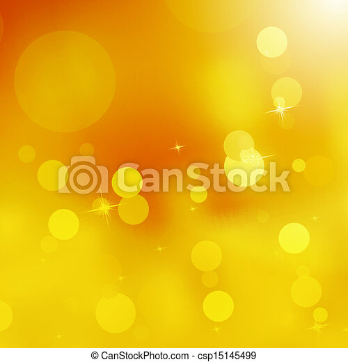 Glittery gold Christmas background. EPS 10 - csp15145499