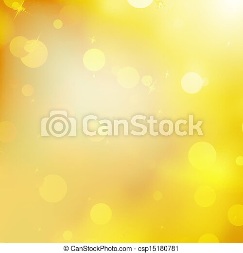 Glittery gold Christmas background. EPS 10 - csp15180781