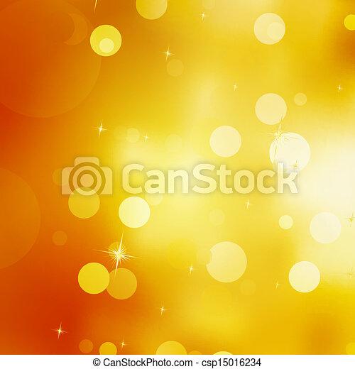 Glittery gold Christmas background. EPS 10 - csp15016234