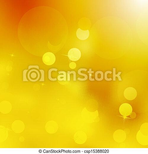 Glittery gold Christmas background. EPS 10 - csp15388020