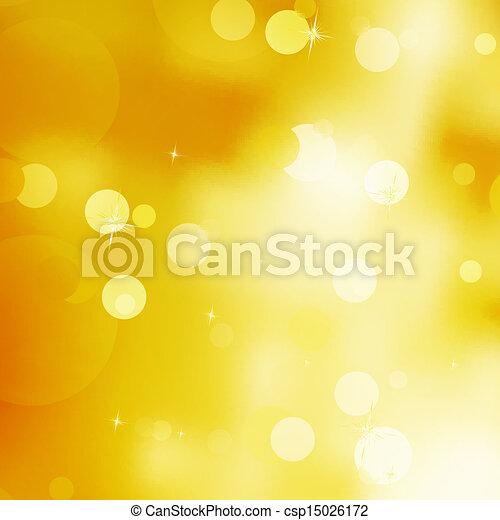 Glittery gold Christmas background. EPS 10 - csp15026172