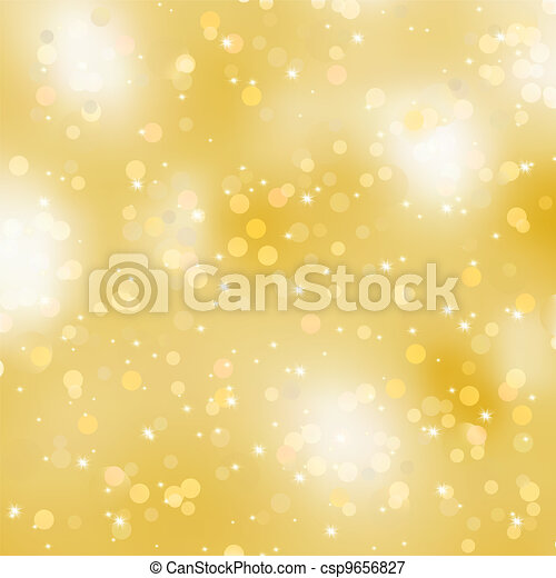 Glittery gold Christmas background. EPS 8 - csp9656827