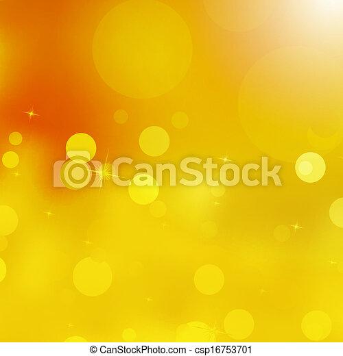 Glittery gold Christmas background. EPS 10 - csp16753701
