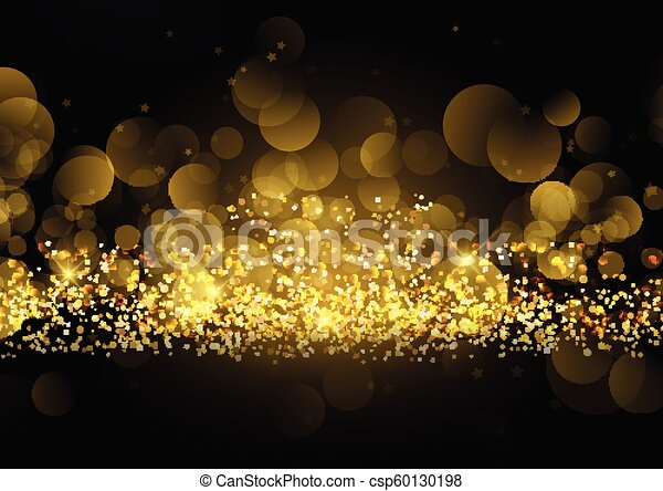 glittery gold sparkle background 0208 - csp60130198