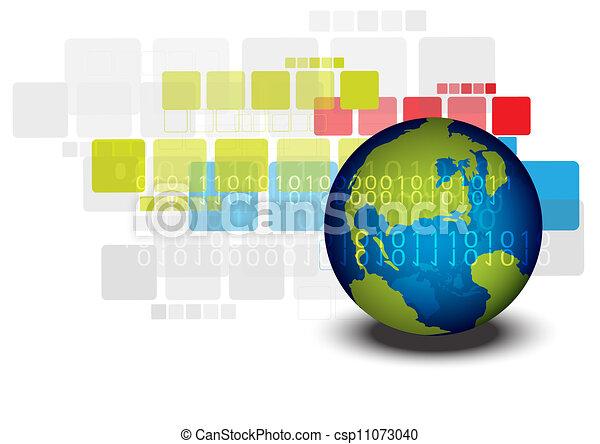 globaal, ontwerp, concept, opmaak - csp11073040