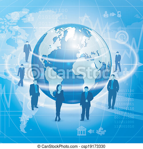 Global Business Concept - csp19173330