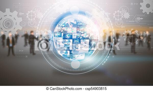 Global business. - csp54903815
