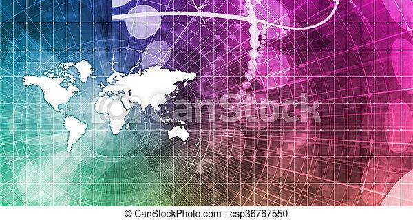 Global Business - csp36767550