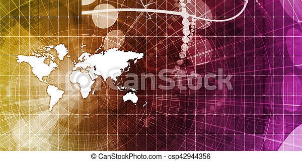 Global Business - csp42944356