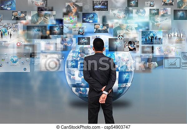 Global business. - csp54903747
