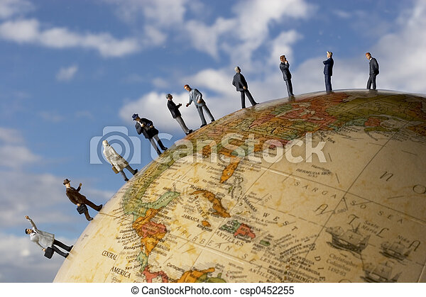 Global business team - csp0452255