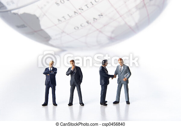 Global business team - csp0456840