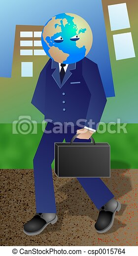 Global Businessman - csp0015764