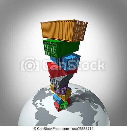 Global Cargo Transportation - csp25655712