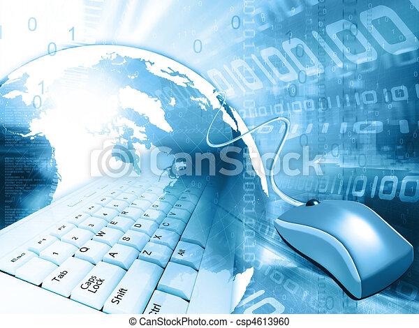 global communication concept - csp4613960