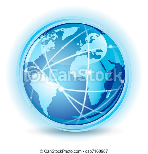 Global communication concept - csp7160987