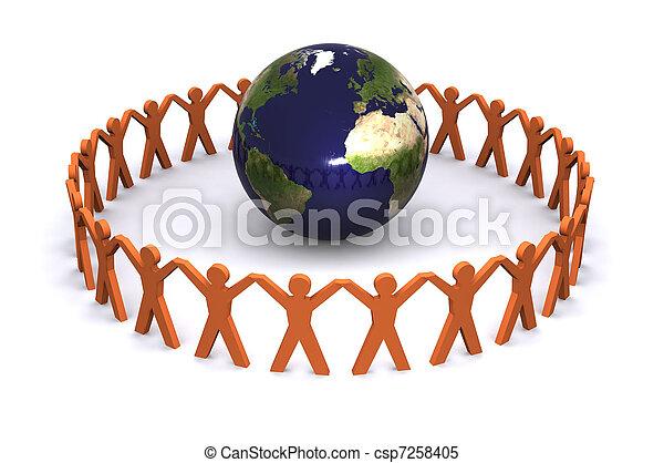 Global Communications - csp7258405