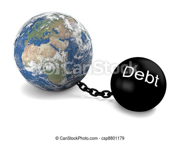 global, dette - csp8801179