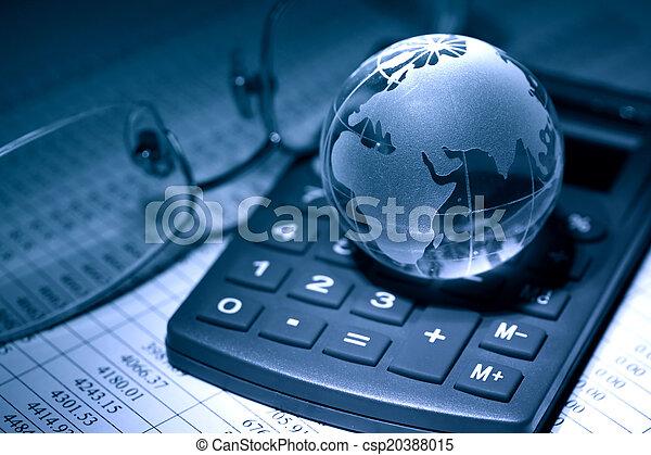 Global Economy - csp20388015