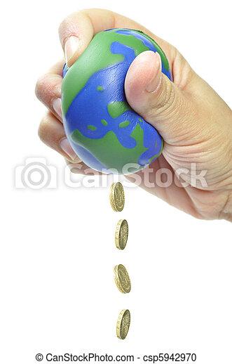 Global economy - csp5942970