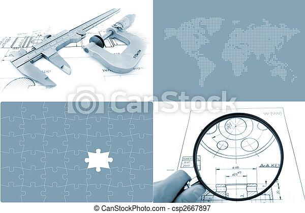Global Engineering Concept - csp2667897