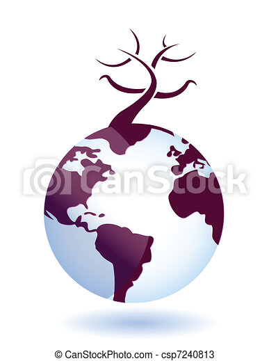 global environmental disaster - csp7240813