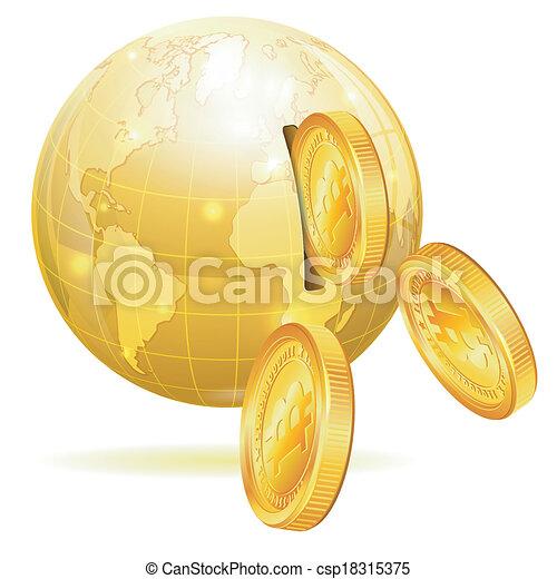 Global Financial Concept - csp18315375