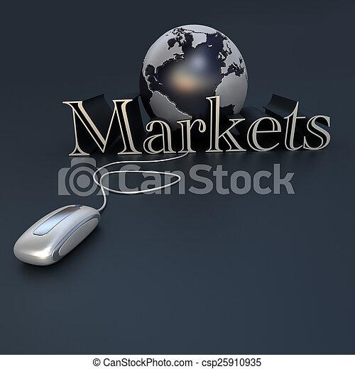 Global market - csp25910935