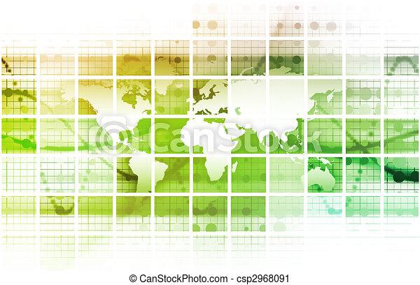 Global Network - csp2968091
