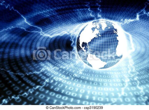 Globale Vernetzung - csp3190239