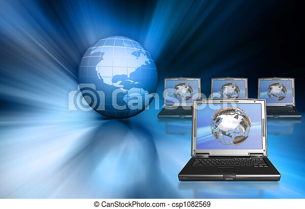 global, tecnologia - csp1082569