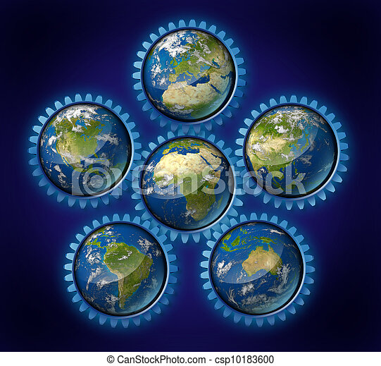 Global Trade Industry - csp10183600