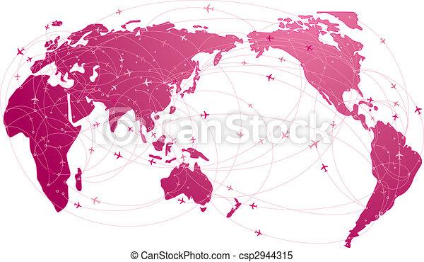 global travel - csp2944315