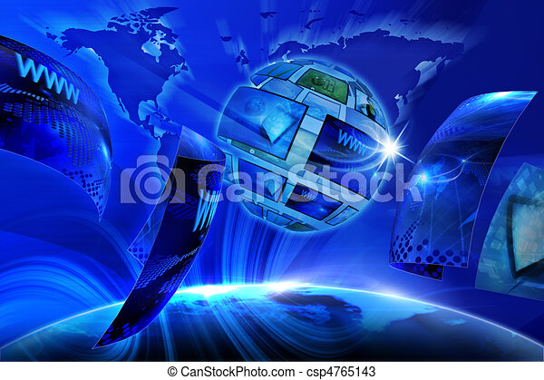 Global Virtual Gallery - csp4765143