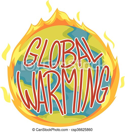 Global Warming Concept - csp36625860