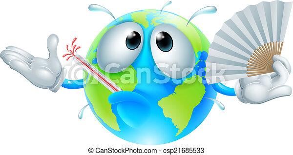 Global warming concept - csp21685533