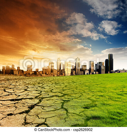 Global Warming Concept - csp2626902