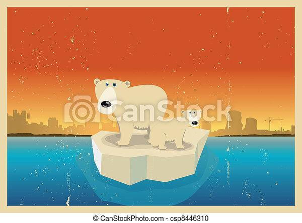 Global Warming Consequences - csp8446310