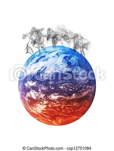 global warming - csp12751084