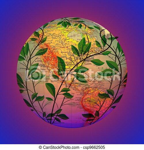 Global Warming - csp9662505