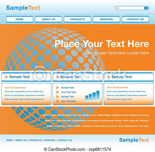 Global website design. - csp6811574