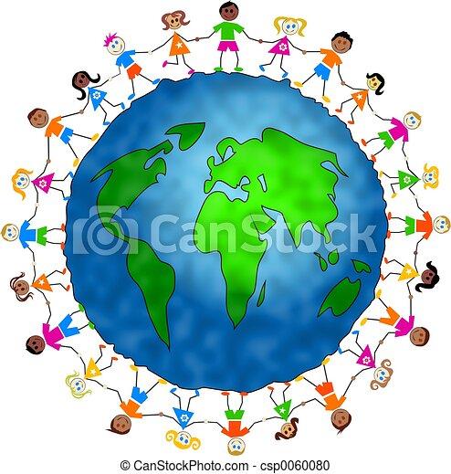 globale, bambini - csp0060080
