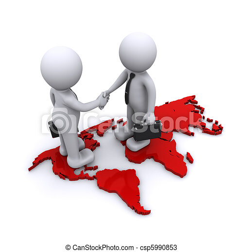 globale, concetto, associazione - csp5990853