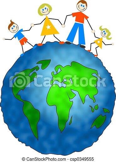 globale, famiglia - csp0349555