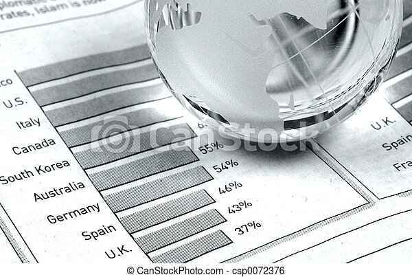 Globale Märkte - csp0072376
