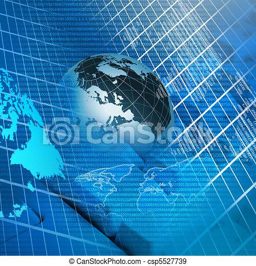 globale, tecnologia - csp5527739