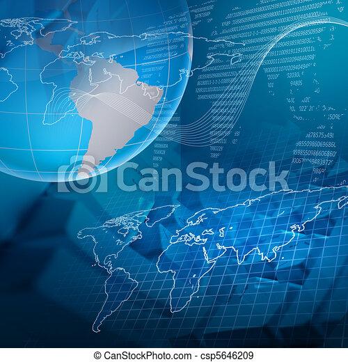 globale, tecnologia - csp5646209