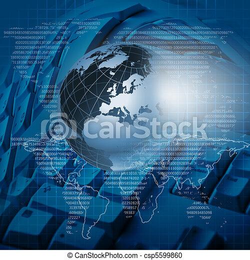 globale, tecnologia - csp5599860