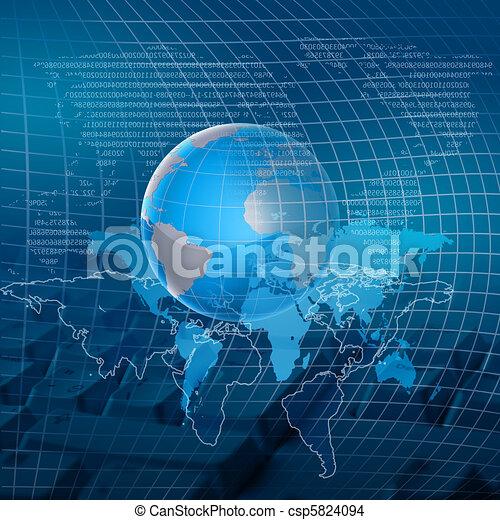 globale, tecnologia - csp5824094