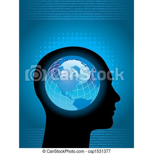 globale, tecnologia - csp1531377